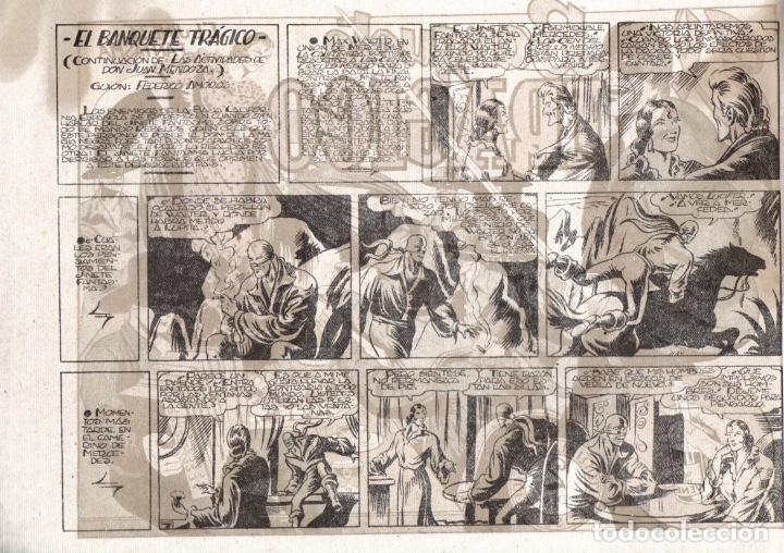 Tebeos: EL BANQUETE TRÁGICO. EL JINETE FANTASMA. ORIGINAL GRAFIDEA. AÑO 1947 - Foto 2 - 91077945