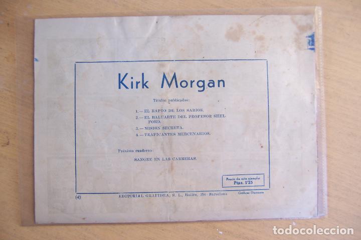 Tebeos: GRAFIDEA,- KIRK MORGAN Nº 4 - Foto 2 - 91304305