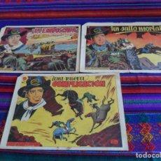 Tebeos: LOTE CUATRO CAPITANES NºS 5, 13 Y 21. GRAFÍDEA 1954. ORIGINALES Y MUY DIFÍCILES!!!!. Lote 44852210