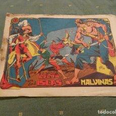 Tebeos: LA CAPITANA.Nº: 2 ORIGINAL.MATIAS ALONSO, 1956. Lote 98127611