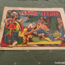 Tebeos: LA CAPITANA.Nº: 4 ORIGINAL.MATIAS ALONSO, 1956. Lote 98127871