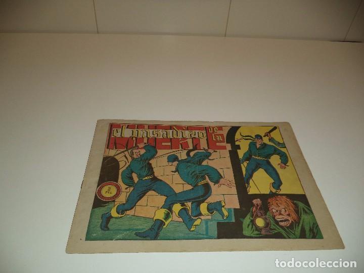 EL JINETE FANTASMA, AÑO 1.947. Nº 63 - 70. ORIGINALES, DIBUJANTE AMBRÓS. (Tebeos y Comics - Grafidea - El Jinete Fantasma)