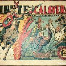 Tebeos: LA MASCARA DE LOS DIENTES BLANCOS NUMERO 16 (DE 20) ORIGINAL EL JINETE DE LA CALAVERA. ORIGINAL. Lote 101020807