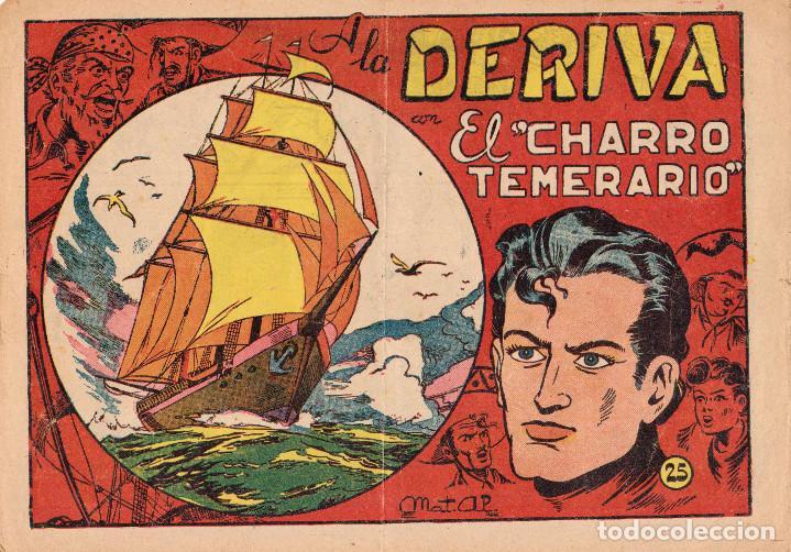 ORIGINAL-EL CHARRO TEMERARIO. NÚMERO 25 (Tebeos y Comics - Grafidea - El Charro Temerario)