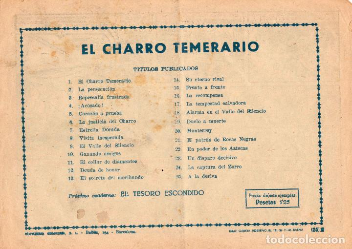 Tebeos: ORIGINAL-El Charro Temerario. Número 25 - Foto 2 - 101127815