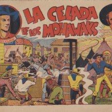 Tebeos: TOM CLARK Nº 13. LA CELADA DE LOS MOHAWAKS. (21,5X32) GRAFIDEA 1944. . Lote 101196099