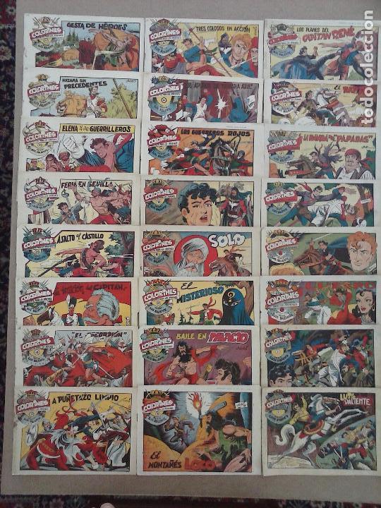 LUIS VALIENTE ORIGINAL COMPLETA - 1 AL 24 GRAFIDEA 1957, VER TODAS LAS PORTADAS (Tebeos y Comics - Grafidea - Otros)