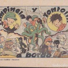 Giornalini: COMIC COLECCION PIMPINELA Y TONTOLIN A BORDO . Lote 105146087