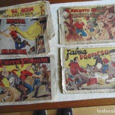Tebeos: LOTE 5 COMICS CHISPITA ORIGINALES AÑOS 50 ED.GRAFIDEA 32X22CM. Lote 107240683