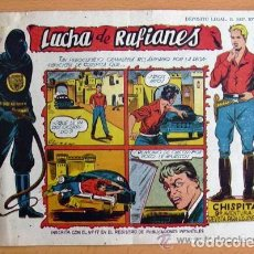Tebeos: CHISPITA 9ª AVENTURA, Nº 20 LUCHA DE RUFIANES - EDITORIAL GRAFIDEA 1957. Lote 110012367