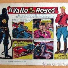 Tebeos: CHISPITA 9ª AVENTURA, Nº 6 EL VALLE DE LOS REYES - EDITORIAL GRAFIDEA 1957. Lote 110012419