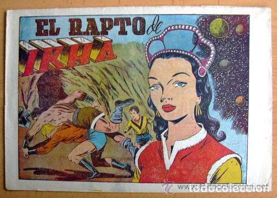 CHISPITA 7ª AVENTURA, Nº 4 EL RAPTO DE IKHA - EDITORIAL GRAFIDEA 1955 (Tebeos y Comics - Grafidea - Chispita)