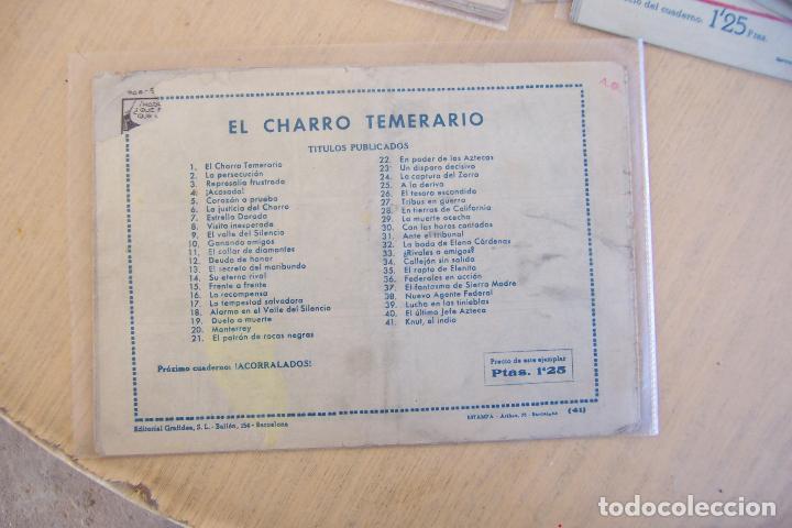 Tebeos: grafidea el charro temerario 1 reedición-2-4-34-41 y 2ª parte la capitana nº 4-18-5-17-36 - Foto 13 - 32972170