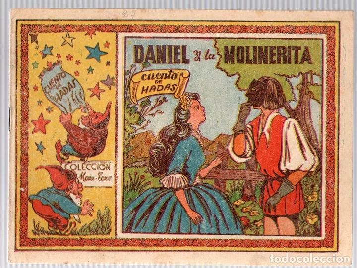 DANIEL Y LA MOLINERITA. CUENTO DE HADAS. Nº 3. COLECCION MARI-TERE (Tebeos y Comics - Grafidea - Otros)