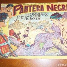 Tebeos: PANTERA NEGRA Nº 13--ORIGINAL. Lote 113919299