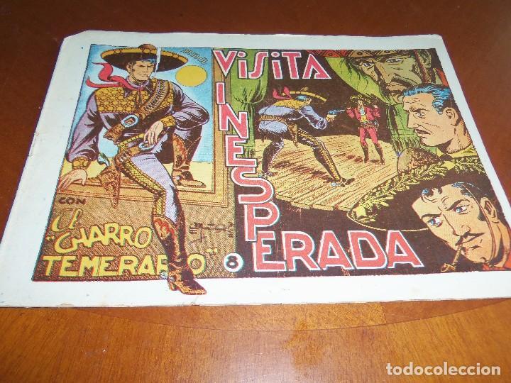 EL CHARRO TEMERARIO--Nº 8--ORIGINAL (Tebeos y Comics - Grafidea - El Charro Temerario)