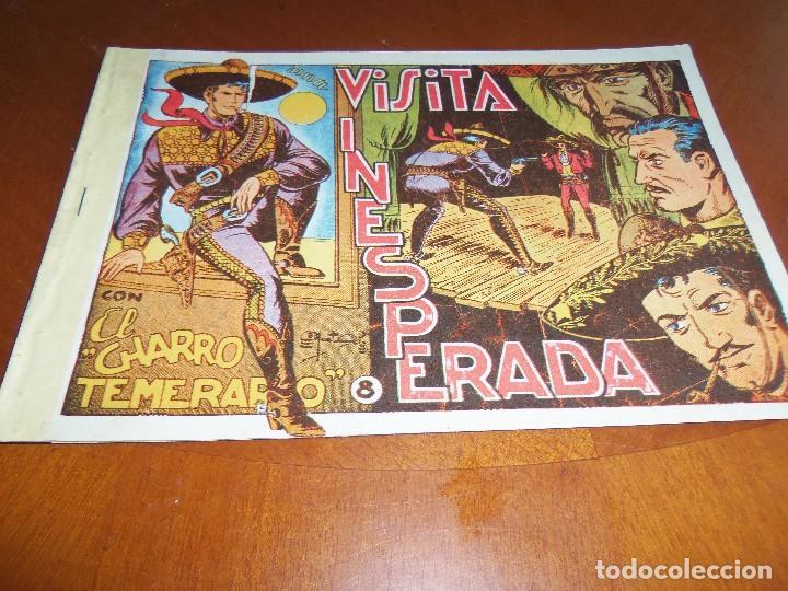 EL CHARRO TEMERARIO Nº 8---ORIGINAL (Tebeos y Comics - Grafidea - El Charro Temerario)