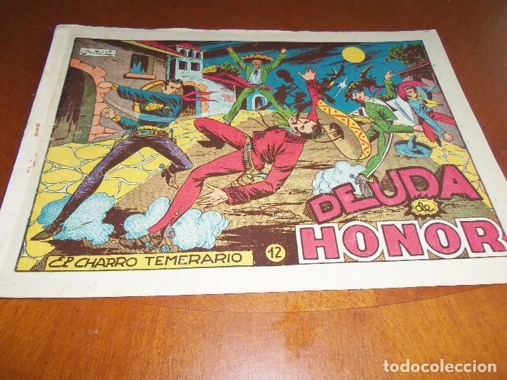 EL CHARRO TEMERARIO-Nº 12--ORIGINAL (Tebeos y Comics - Grafidea - El Charro Temerario)