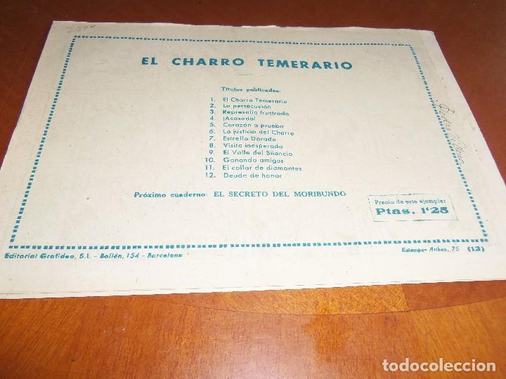Tebeos: EL CHARRO TEMERARIO-Nº 12--ORIGINAL - Foto 2 - 119945559