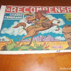 Tebeos: EL CHARRO TEMERARIO--Nº 16--ORIGINAL. Lote 119947995