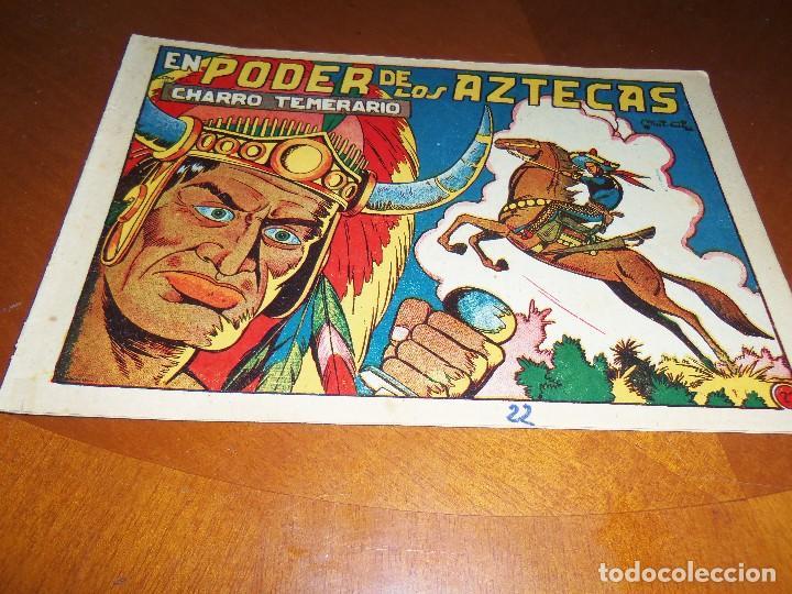 EL CHARRO TEMERARIO Nº 22--ORIGINAL (Tebeos y Comics - Grafidea - El Charro Temerario)