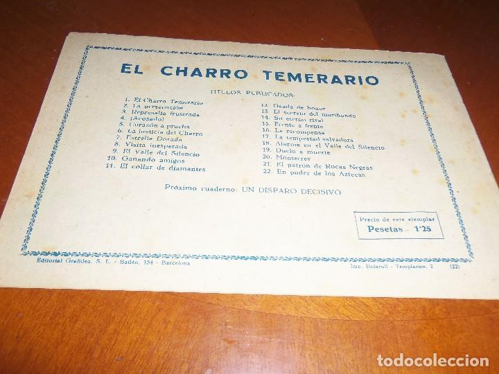Tebeos: EL CHARRO TEMERARIO Nº 22--ORIGINAL - Foto 2 - 119949659