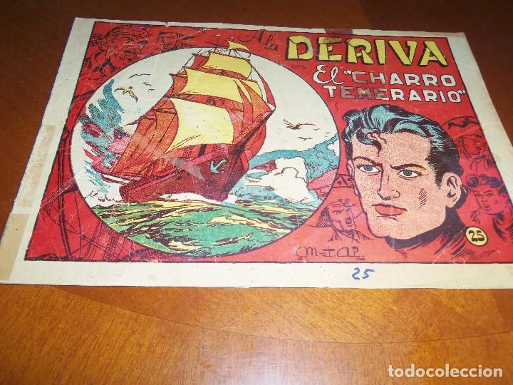 EL CHARRO TEMERARIO--Nº 25--ORIGINAL (Tebeos y Comics - Grafidea - El Charro Temerario)