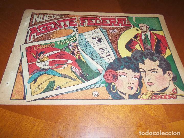 EL CHARRO TEMERARIO-Nº 38--ORIGINAL (Tebeos y Comics - Grafidea - El Charro Temerario)