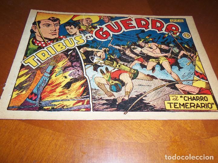 EL CHARRO TEMERARIO -Nº 27--ORIGINAL (Tebeos y Comics - Grafidea - El Charro Temerario)