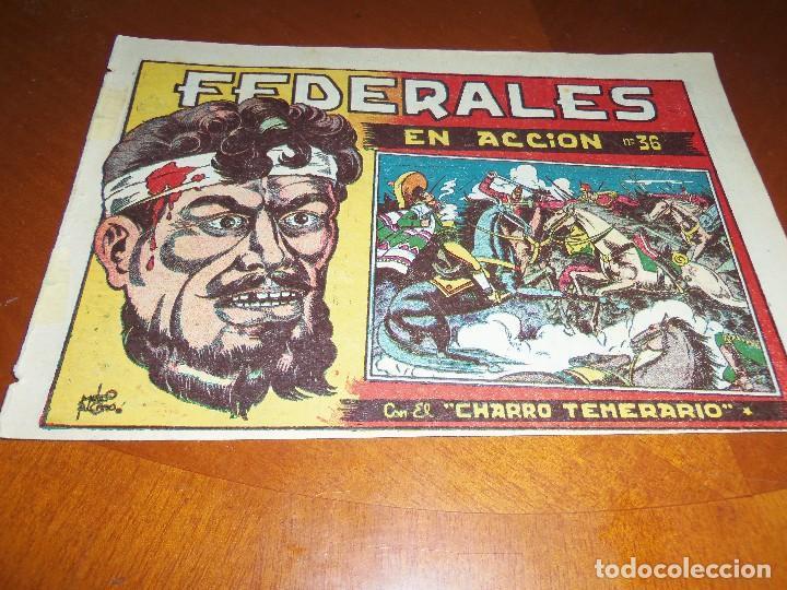 EL CHARRO TEMERARIO--Nº 36--ORIGINAL (Tebeos y Comics - Grafidea - El Charro Temerario)