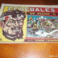 Tebeos: EL CHARRO TEMERARIO--Nº 36--ORIGINAL. Lote 119963255