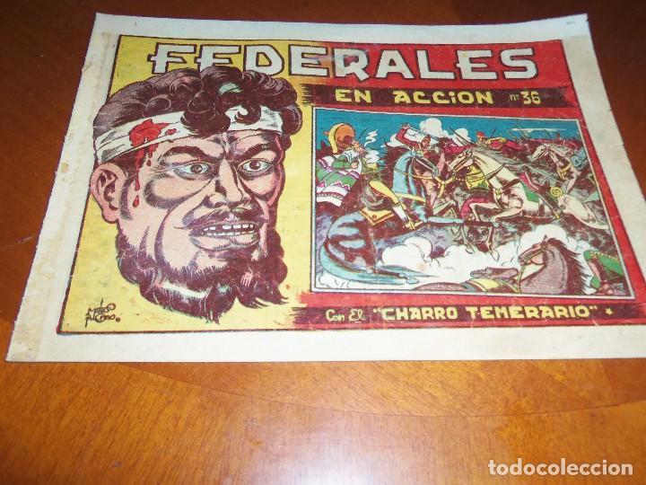 EL CHARRO TEMERARIO-Nº 36--ORIGINAL (Tebeos y Comics - Grafidea - El Charro Temerario)