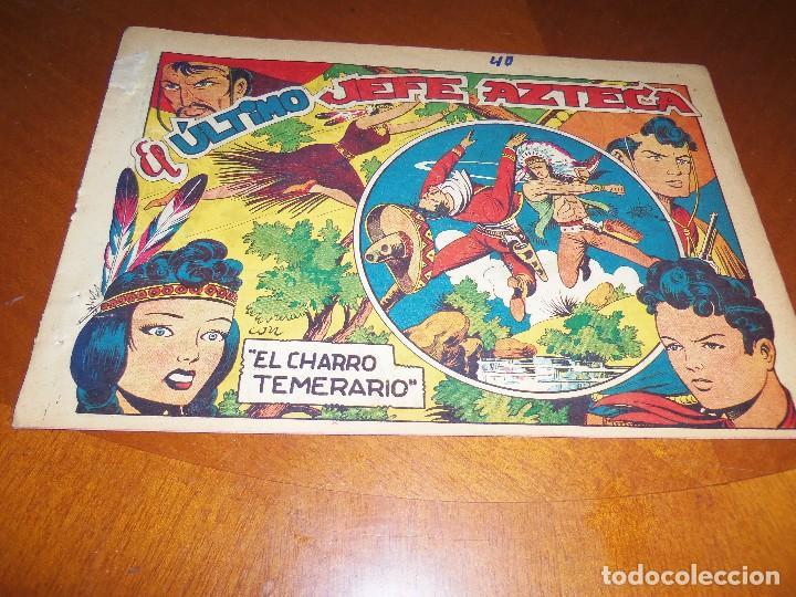 EL CHARRO TEMERARIO--Nº 40--ORIGINAL- (Tebeos y Comics - Grafidea - El Charro Temerario)