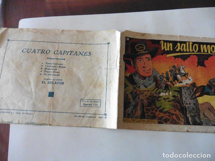 CUATRO CAPITANES Nº 5 ORIGINAL (Tebeos y Comics - Grafidea - Otros)