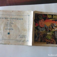 Tebeos: CUATRO CAPITANES Nº 5 ORIGINAL. Lote 121262211