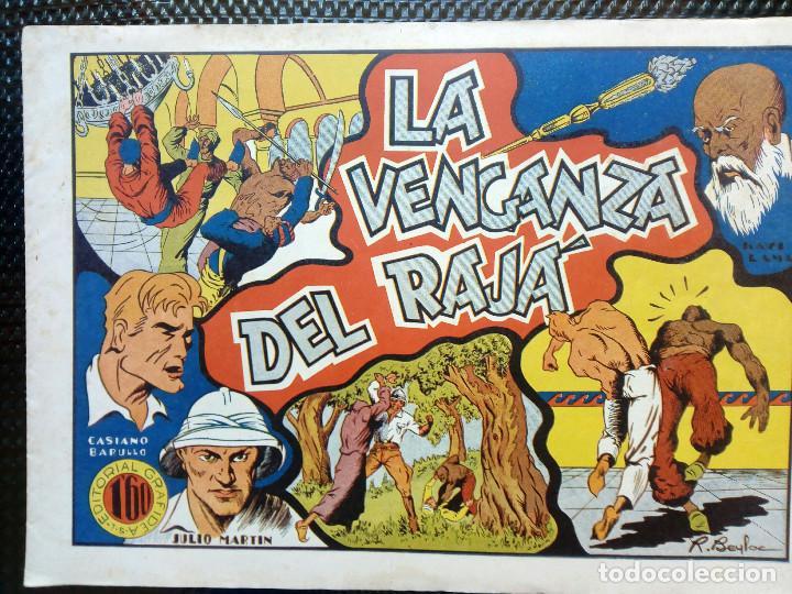 COMIC - LA VENGANZA DEL RAJA - EDTO.GRAFIDEA - ORIGINAL 1945 (M-2) (Tebeos y Comics - Grafidea - Otros)