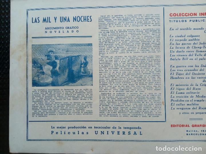 Tebeos: COMIC - LA VENGANZA DEL RAJA - EDTO.GRAFIDEA - ORIGINAL 1945 (M-2) - Foto 2 - 121644579