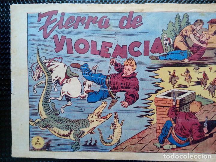 COMIC TIERRA DE VIOLENCIA Nº5 - EDT, GRAFIDEA 1948 - ORIGINAL ( M-2) (Tebeos y Comics - Grafidea - Otros)