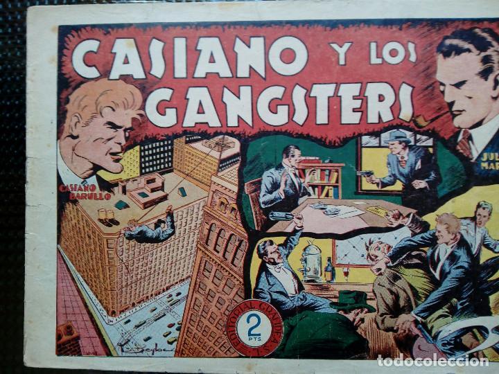 COMIC CASIANO Y LOS GANGSTERS Nº 11-ORIGINAL - EDT. GRAFIDEA ( M-2) (Tebeos y Comics - Grafidea - Otros)