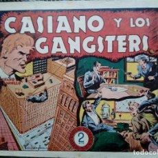 Tebeos: COMIC CASIANO Y LOS GANGSTERS Nº 11-ORIGINAL - EDT. GRAFIDEA ( M-2). Lote 121688427