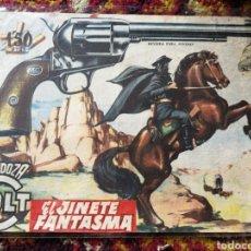 BDs: CÓMIC EL JINETE FANTASMA- MENDOZA COLT, N°62. 1958.. Lote 124187088