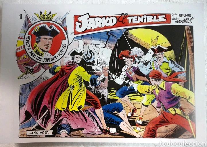 TEBEO JARKO EL TEMIBLE 20 VOLUMENES EDICIÓN COMPLETA FACSÍMIL (Tebeos y Comics - Grafidea - Otros)