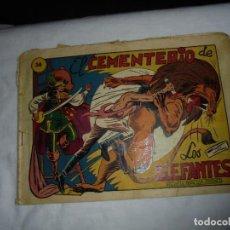 Livros de Banda Desenhada: EL CEMENTERIO DE LOS ELEFANTES Nº 38. Lote 126748487