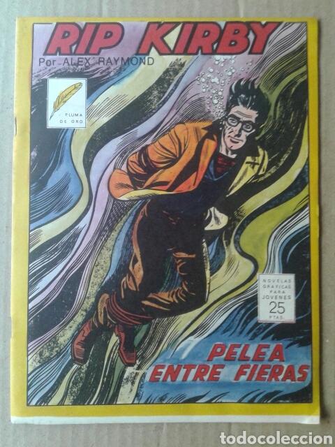RIP KIRBY: PELEA ENTRE FIERAS, POR ALEX RAYMOND. PLUMA DE ORO (GRAFIMART EDICIONES, 1976) (Tebeos y Comics - Grafidea - Otros)