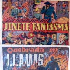 Tebeos: COM-48. EL JINETE FANTASMA. 2 EJEMPLARES SUELTOS NOS. 86 Y 148. ED. GRAFIDEA. ORIGINALES.. Lote 127595715