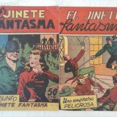Tebeos: EL JINETE FANTASMA NºS 10 Y 11 EDI. GRAFIDEA - SIN ABRIR NI CIRCULAR. Lote 127677911