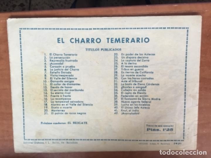 Tebeos: Charro Temerario Nº 42 - Foto 2 - 128411435