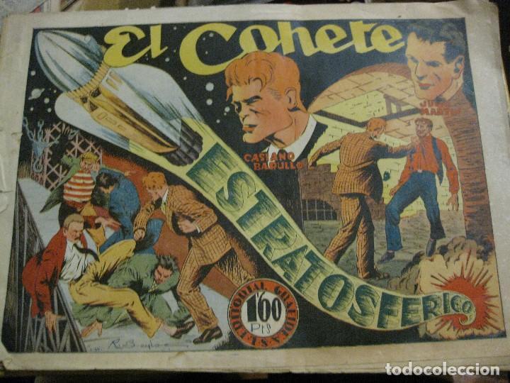 EL COHETE ESTRATOSFERICO DE CASIANO BARULLO ED GRAFIDEA AÑOS 40 (Tebeos y Comics - Grafidea - Otros)