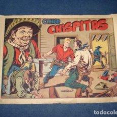 Tebeos: CHISPITA 4: CINCO CHISPITAS (SEXTA AVENTURA), 1955, GRAFIDEA, USADO. Lote 129133631