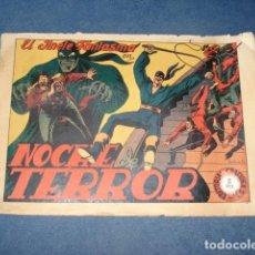 Tebeos: EL JINETE FANTASMA 17: NOCHE DE TERROR, 1947, ORIGINAL GRAFIDEA. Lote 129134255